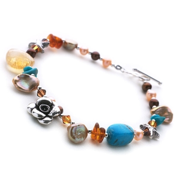 Sunset Vista Bracelet (Single Row)