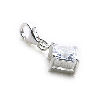 Claw Set Charm (Square)
