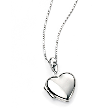 Classic Heart Children's Locket