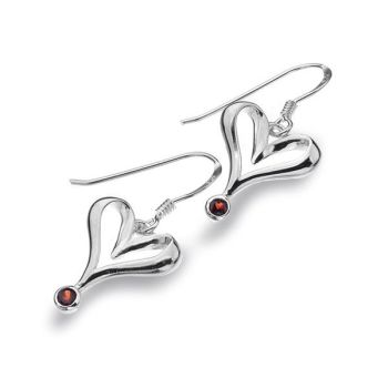 Garnet Amour Earrings