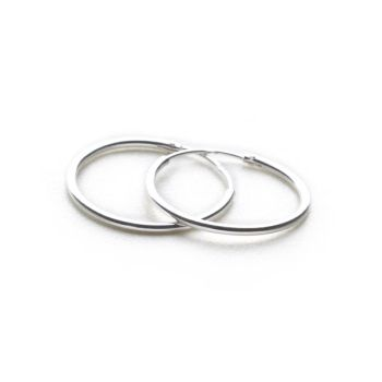 Charm Hoops (Hinged Sleeper)