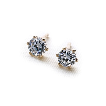 Gold Le Stud Earrings 9ct