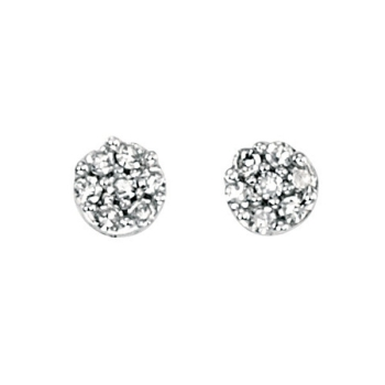 Diamond Bud Earrings 9ct