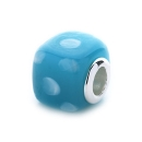Spotted Bead (blue/white)
