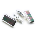 The Oblong Cufflinks (Grey)