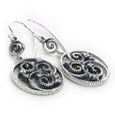 Rococo Circles Earrings