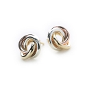 Trio Knot Earrings