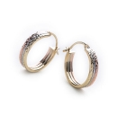 Trio Hoop Earrings (18mm)