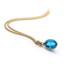 Marche Pendant Blue 9ct