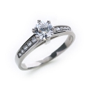 Solitaire Ring Size O