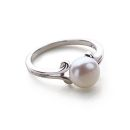 Ornate Pearl Ring