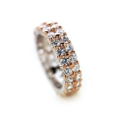Tiara Rose Eternity Ring