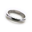 Bali Hammered Ring (Medium)