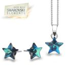Swarovski Blue Star Set (P1891+E3207)